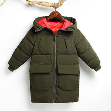 Girl's and Boy's Thicken Down Jackets For 4-13Y