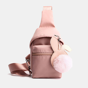 Women Vintage Canvas Casual Large Capacity Crossbody Bags Le