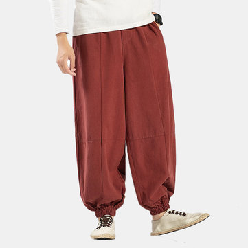 Mens Chinese Style Comfortable Pants