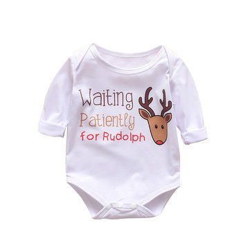 Baby Christmas Rompers For 0-24M