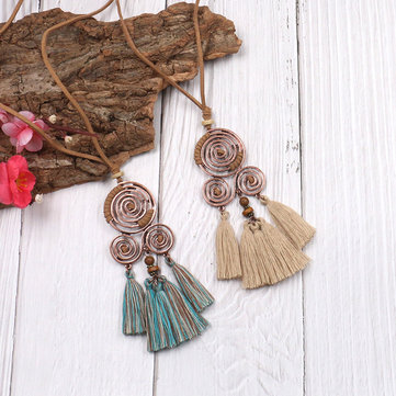 Tassel Dreamcatcher Sweater Chain