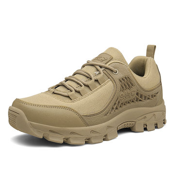 Men Cloth Non Slip Casual Hiking Sneakers