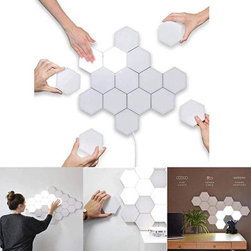 Luz de toque hexagonal LED