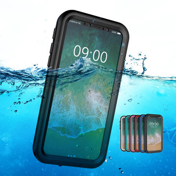 Unisex Waterproof Anti-Drop Mobile iPhone Phone Case