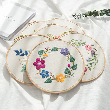 DIY Embroidery Kit Arts Crafts Sewing Decor