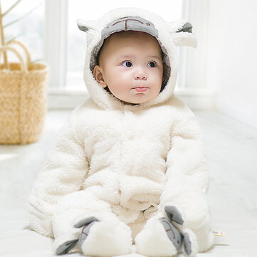 Lamb Thick Baby Jumpsuit For 0-36M