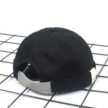 Cotton Adjustable Breathable French Brimless Hats