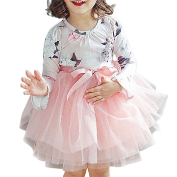Girl's Printed Tutu dress For 3-11Y