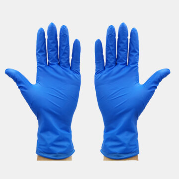 100Pcs / Pack Disposable Rubber Gloves