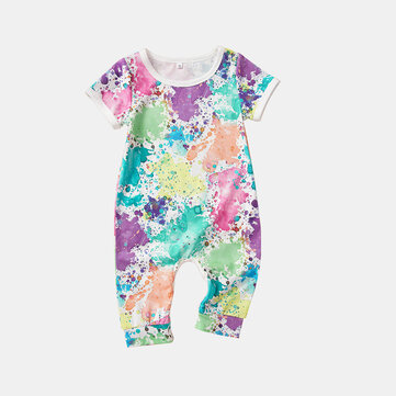 Baby Graffiti Rompers For 6-24M