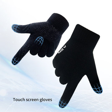 Touch screen Gloves Warm Knitted Cut-resistant Glove