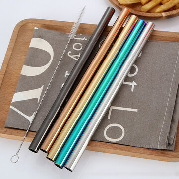 Stainless Steel Color Straw