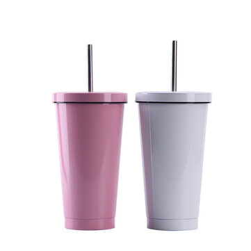 500ML Ins Style Straw Cup