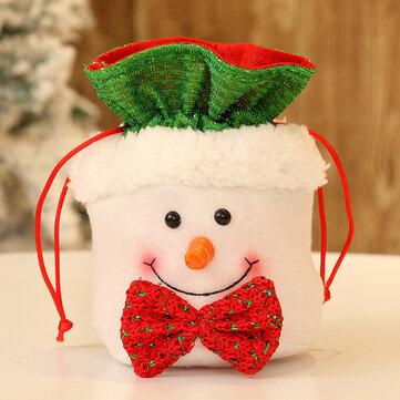حقيبة حلوى عيد الميلاد 1PCS الفانيلا