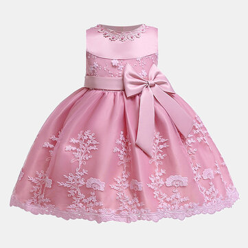 बेबी फॉर्मल फ्लावर ड्रेस 0-24 एम