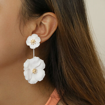 Camellia Detachable Earrings