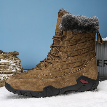 Men Outdoor Keep Warm Hiking Snow Boots