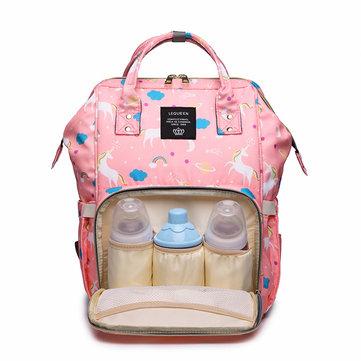 Unicorn Mummy Bag Backpack Large-capacity