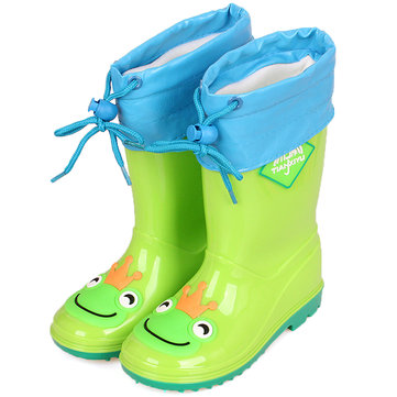 Unisex Kids Cartoon Lovely Rain Boots
