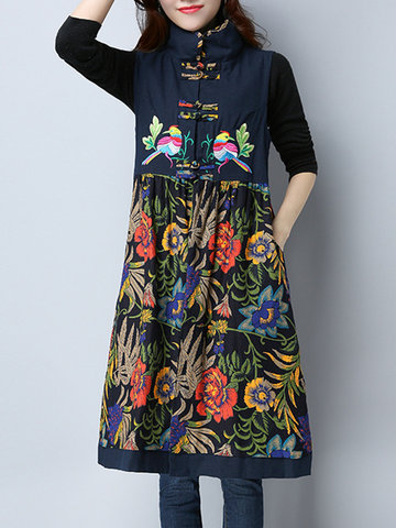 Vintage Women Thick Dresses Jumper Coats фото