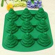 3D biscotto di silicone della muffa della torta dell'albero di Natale muffa del cioccolato Multi funzione della cucina AAccessorie.s