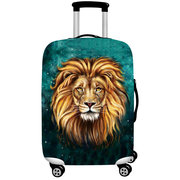 Travel Lion Polyester Luggage Bag Cover Dustproof Elastic Suitcase Cover For 18-32inch