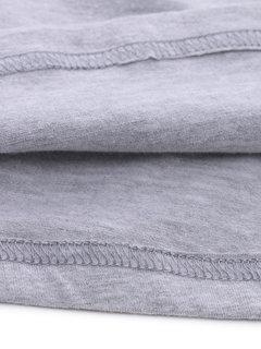 O-Newe lose reine Farbe zurück Bogen Mini Kleid für Frauen