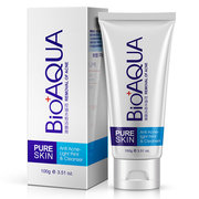BIOAQUA Facial Cleaner Acne Remove Oil Control Face Washing Pores Deep Cleansing Moisturizing