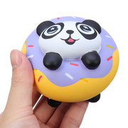 Panda Donut Squishy Soft Slow Rising Collection Gift Decor Toy