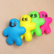 Cute Squeeze Man Squishy Stretchy Doll 10cm Stress Reliever Decompress Gift Decor Toy
