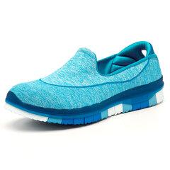 Bequeme Walking Lazy Slip On Sneakers für Damen