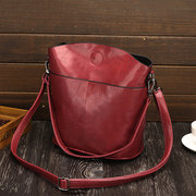 Women Stylish Simple Bucket Bag Shoulder Bag Crossbody bag
