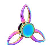 Tri-Spinner Colorful Fidget Hand Spinner ADHD Autismo Ridurre Stress Focus Giocattoli di attenzione