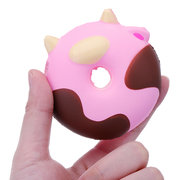 Cartoon Cow Donut Cake Squishy Slow Rising Collection Gift Soft Toy With Packaging