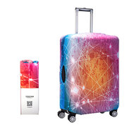 Nebula Multicolor Outdoor Travel Elastic Luggage Cover Trolley Suitcase Cover Anti-dust Protector