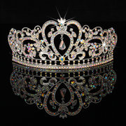 Novia Rhinestone Crystal Boda Tiara Crown Prom Pageant Princess Crowns velo de novia velo