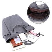 Damen Canvas Tote Handtaschen lässig Schulter Taschen Kapazität Einkaufen Taschen