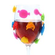 ككاسا كك-GC05 12 قطع سيليكون البحر بحري المغناطيسي النبيذ سحر النبيذ نظارات المشروبات صانع بار أدوات