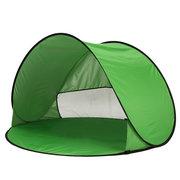 Letto all'aperto della tenda del parasole del parasole della spiaggia UV di apertura della tenda all'aperto di 1-2 persone