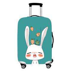 Honana Cute Cartoon Rabbit Elástico Funda de equipaje Durable Maleta Protector