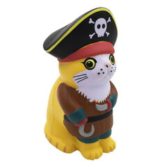 Viking Pirate Cat Squishy With Packaging