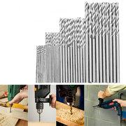16/25/28/30/40Pcs High Speed Steel Metric Twist Drilling Drill Bits Set 0.5-3mm