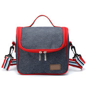 Outdoor Portable Picnic Bag Insulated Thermal Lunch Box Carry Tote Storage Bag Case