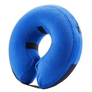 Inflatable Protective Collar Dog and Cats Head Cone Soft Recovery Collar for Injuries Rashes Pet