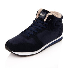 Big Size Lace Up Warm Fur Lining Sport Flat Casual Shoes