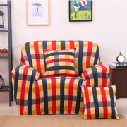 One Seater Textile Spandex Strench Flexible Printed Elastic Sofa Couch Cover Housse de protection