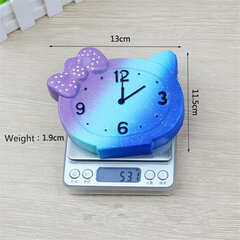 PU Simulation Clock Decompression Squishy Toys 13cm Slow Rising With Packaging Collection Gift Toy