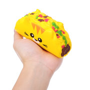 Cat Vegetable Roll Squishy Slow Rising Soft Toy Gift Collection With Packaging