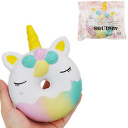 Kawaii Doughnut Squishy Slow Rising With Packaging Collection Gift Toy