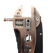 Bronzed Multi-tool Adjustable Wrench Jaw+Screwdriver+Pliers+Knife Multi Tool Set